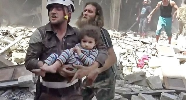Where is YOUR White Helmet?